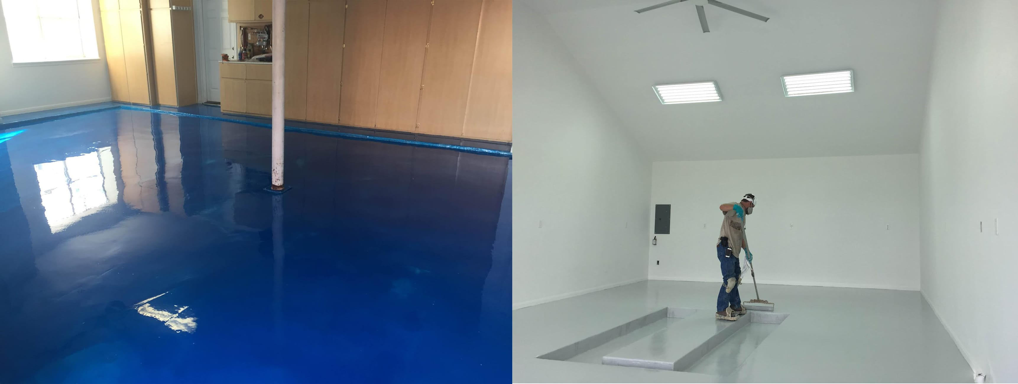 Garage Epoxy Flooring Austin TX