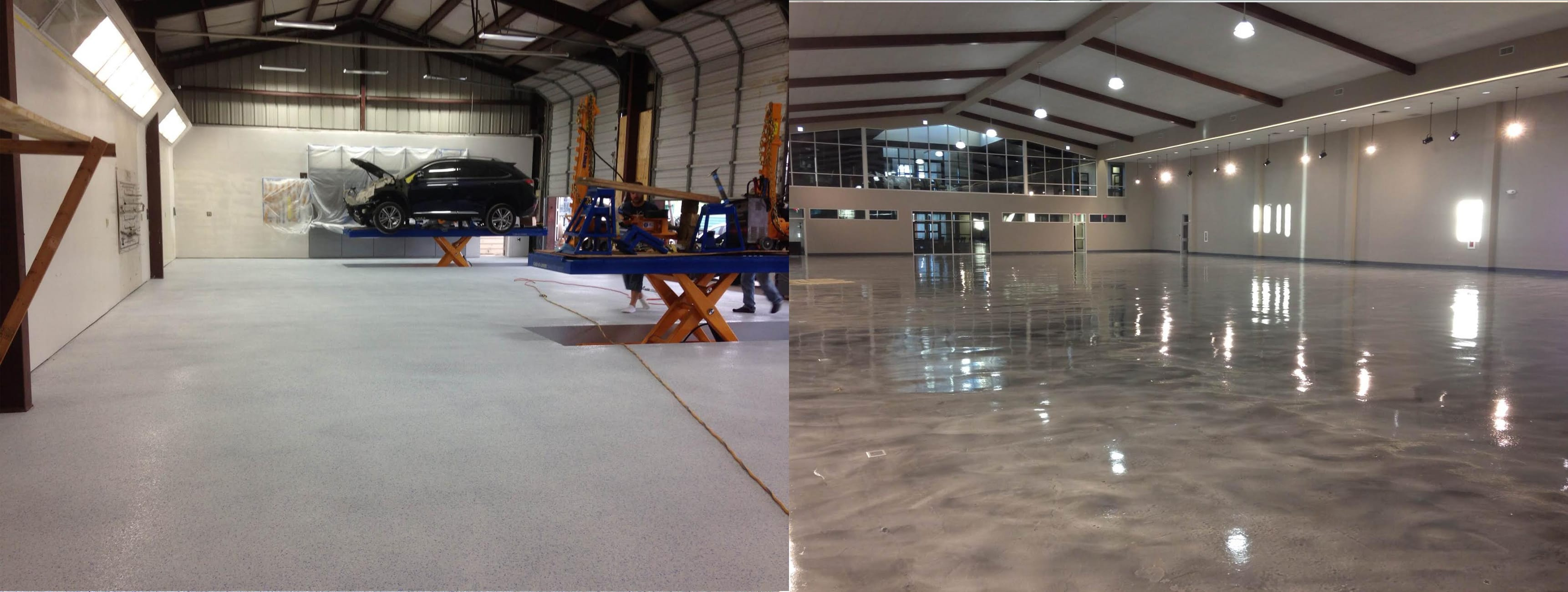 Garage Epoxy Flooring Austin Tx Foster Hi Tech Floors